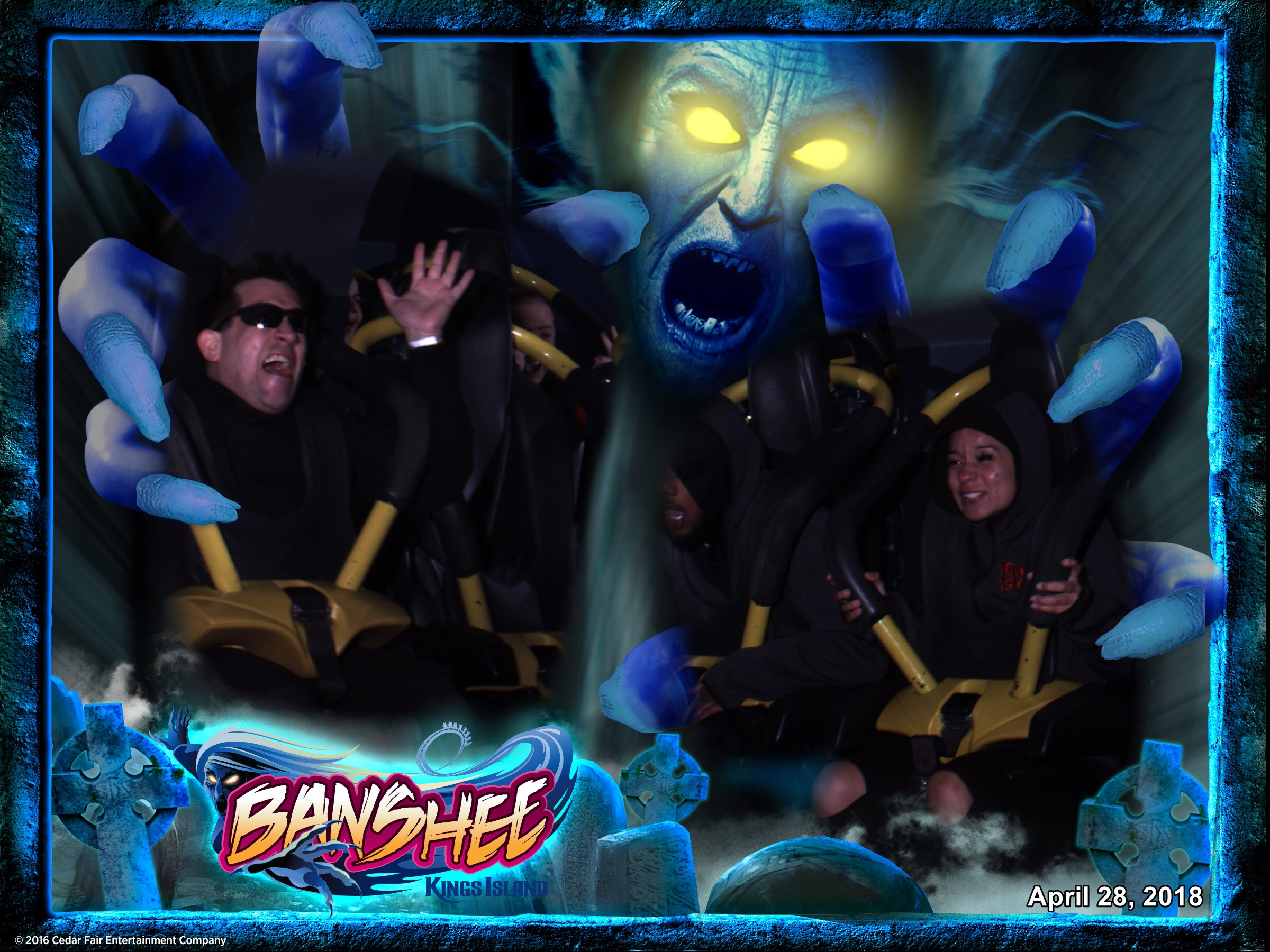 connor goodwolf theme parks kings island banshee 04282018