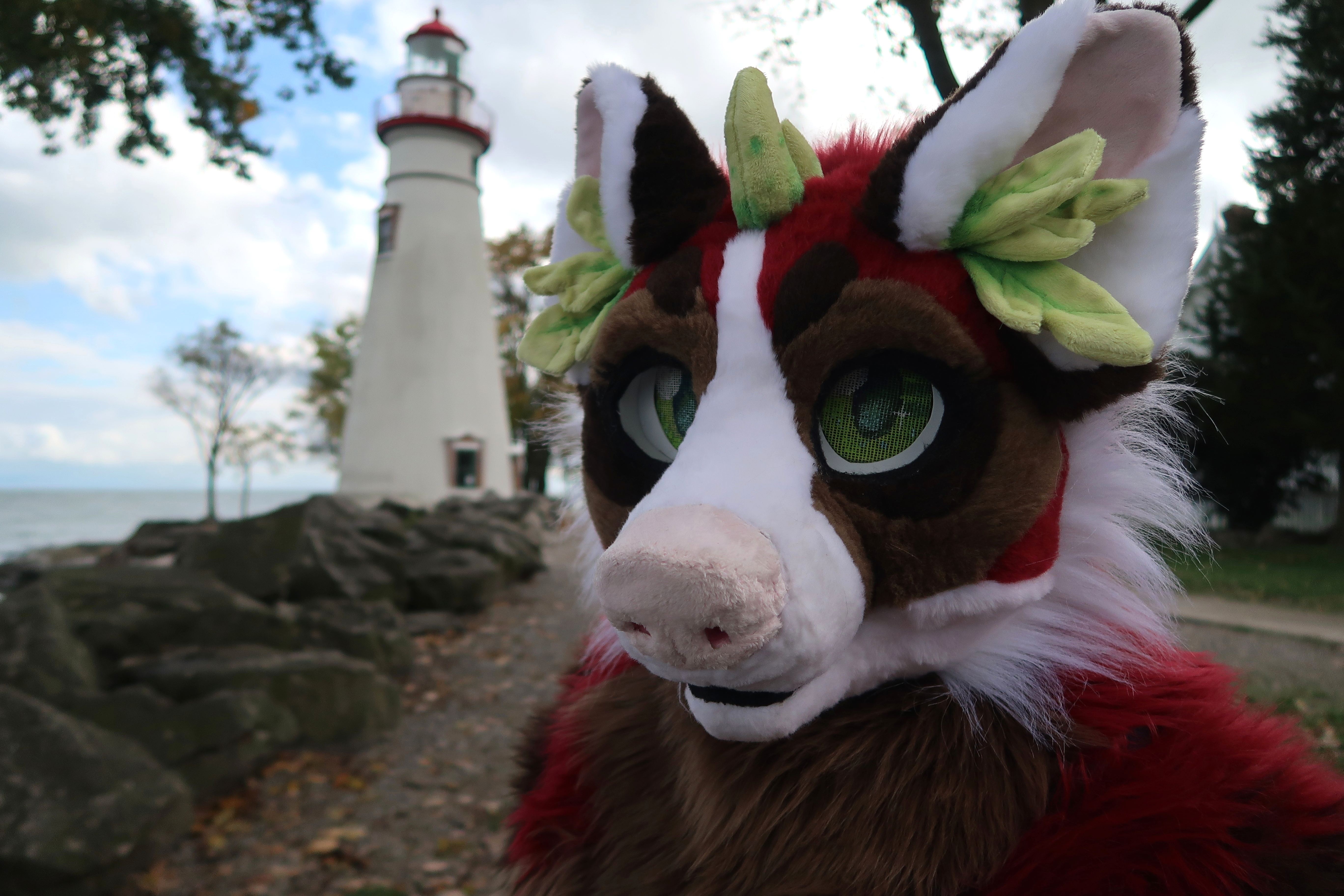 Marblehead, Ohio - With Lighthouse on Side. Shandra Dragon and Connor Goodwolf